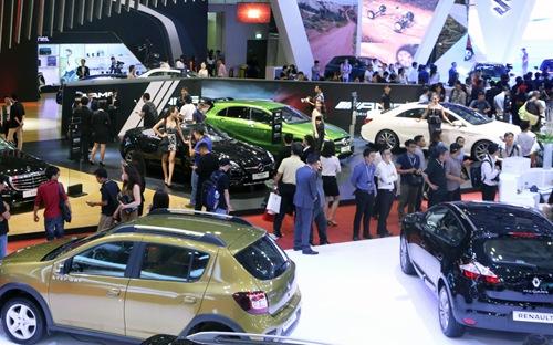 Mở rộng quy mô triển lãm ôtô nhập khẩu